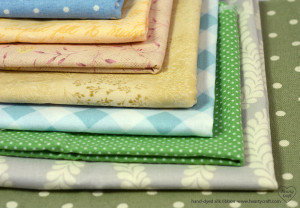Fabric for silk ribbon embroidery (1)