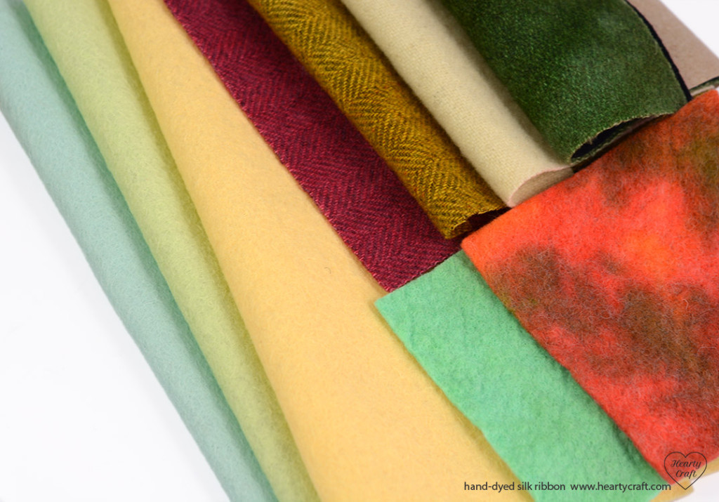 Choosing fabric for silk ribbon embroidery