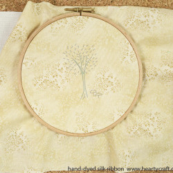 Silk Ribbon Embroidery - Tree Pattern (1)