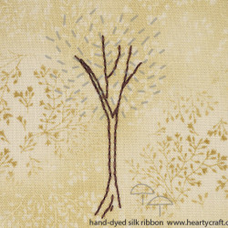 Silk Ribbon Embroidery - Tree Pattern (2)