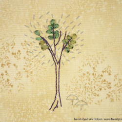 Silk Ribbon Embroidery - Tree Pattern (3)