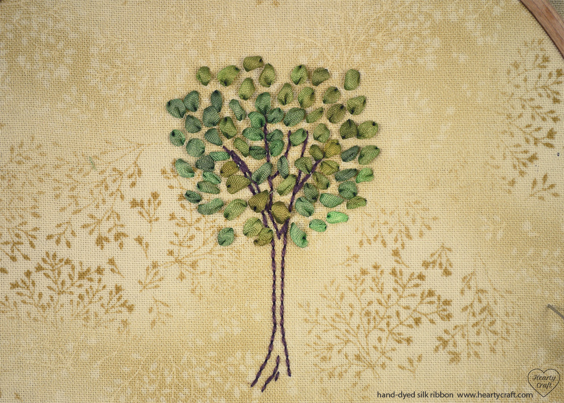 Silk ribbon embroidery tree pattern 4 hearty craft silk ribbon embroidery tree pattern 4 bankloansurffo Choice Image