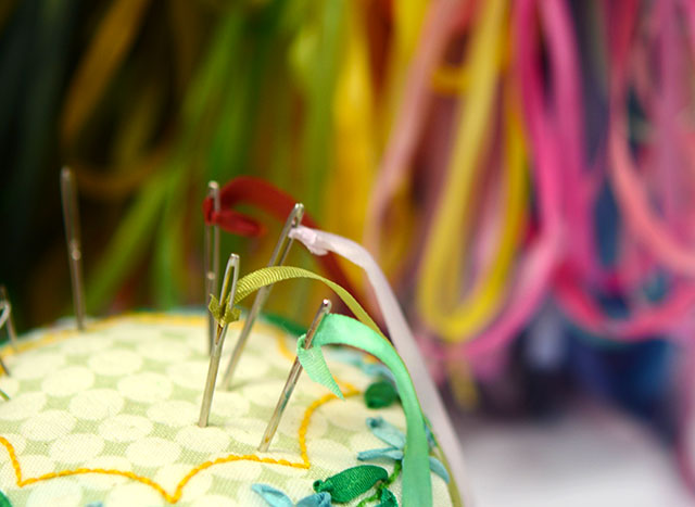 Silk Ribbon Embroidery How To