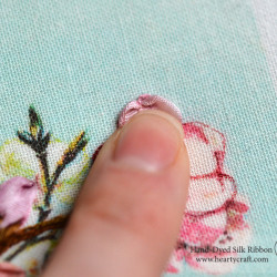 Cherry Blossom. Silk Ribbon Embroidery Tutorial