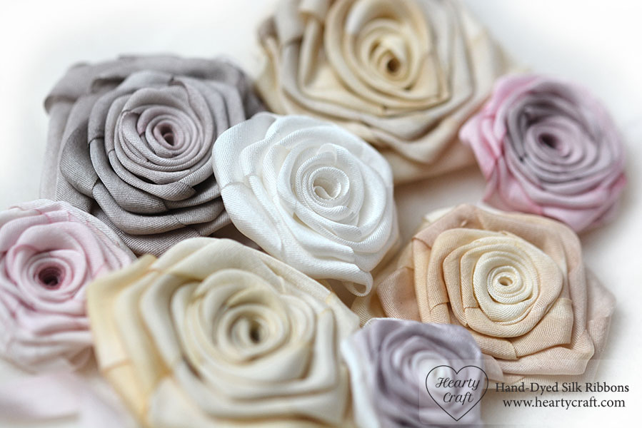 Folded Rose Free Tutorial by Hearty Craft