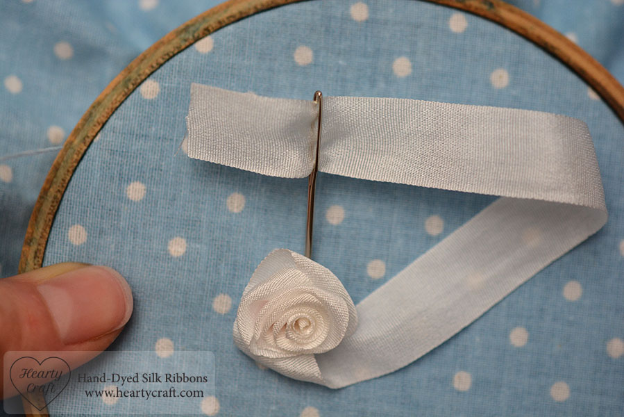 Folded Rose Tutorial - Stitch the Last Petal