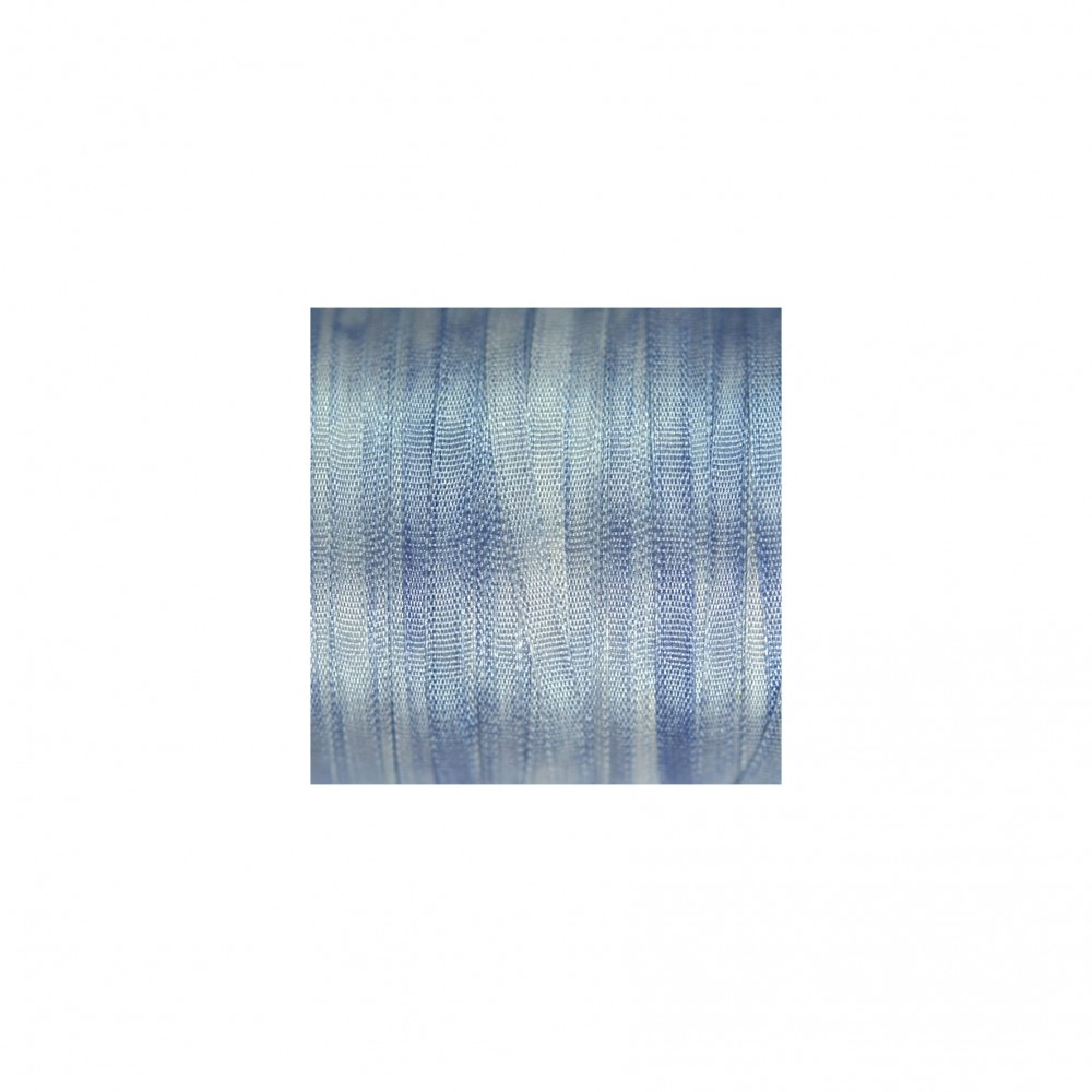 hand-dyed silk ribbon Love-in-a-Mist 2mm