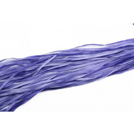 hand-dyed silk ribbon Bluebell 2mm