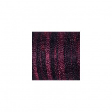 hand-dyed silk ribbon Dark Bordeaux 2mm