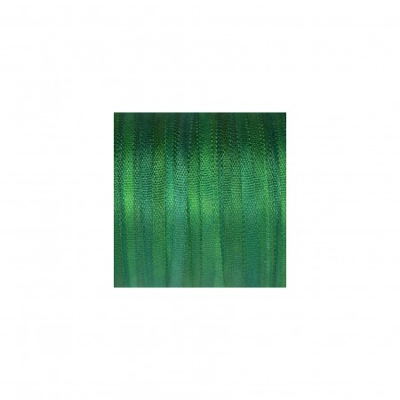 hand-dyed silk ribbon Emerald Green 2mm