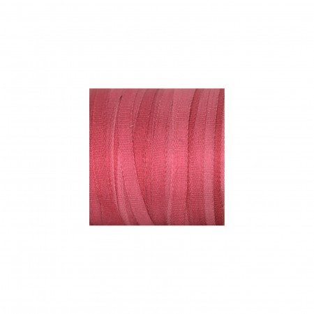 hand-dyed silk ribbon Pink Peony 2mm