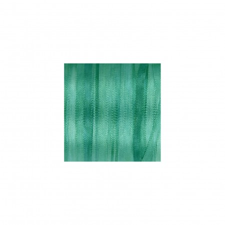 hand-dyed silk ribbon Teal Green 2mm