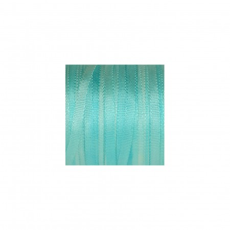 hand-dyed silk ribbon Turquoise 2mm