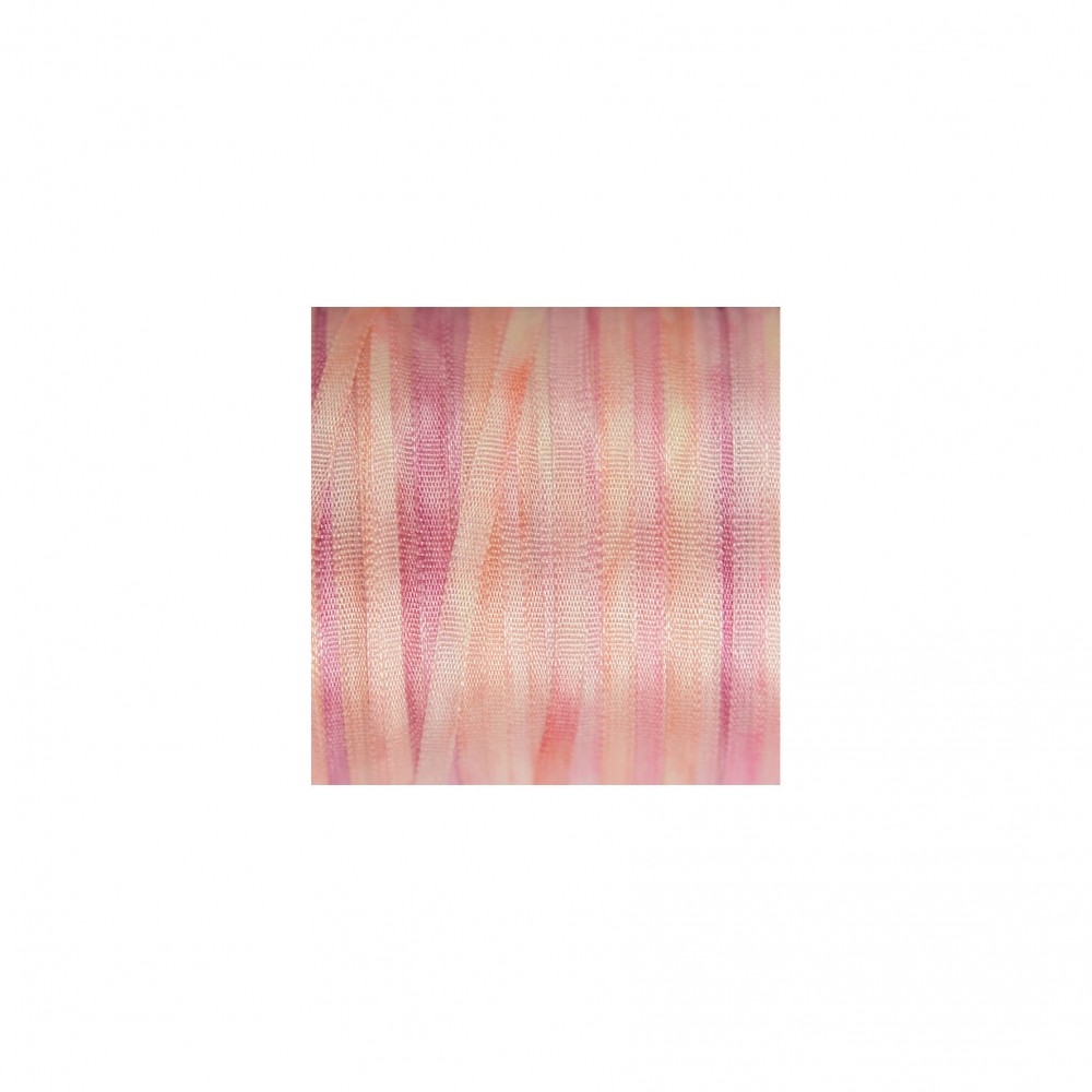 hand-dyed silk ribbon Baby Pink 2mm