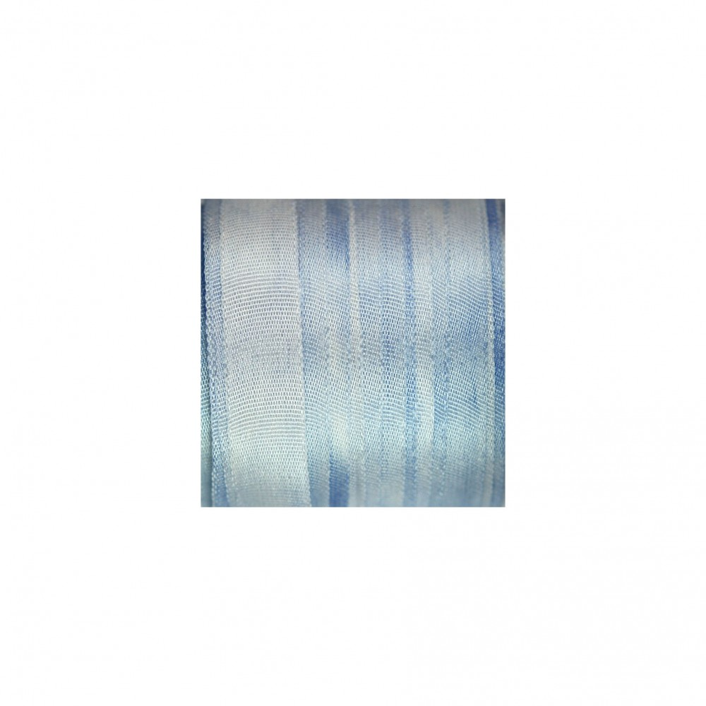 hand-dyed silk ribbon Love-in-a-Mist 7mm