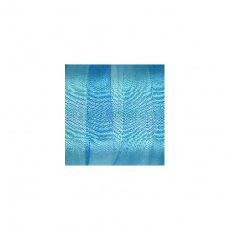 hand-dyed silk ribbon Forget-me-not 7mm