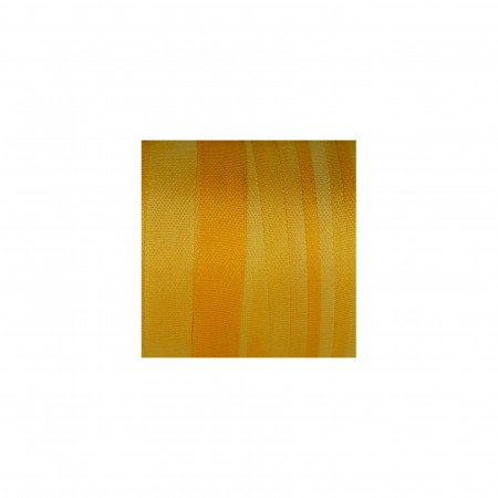 hand-dyed silk ribbon Gold Yellow 7mm