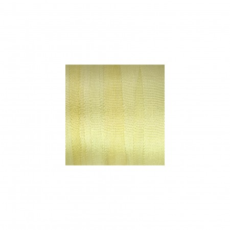 hand-dyed silk ribbon Pale Yellow 7mm