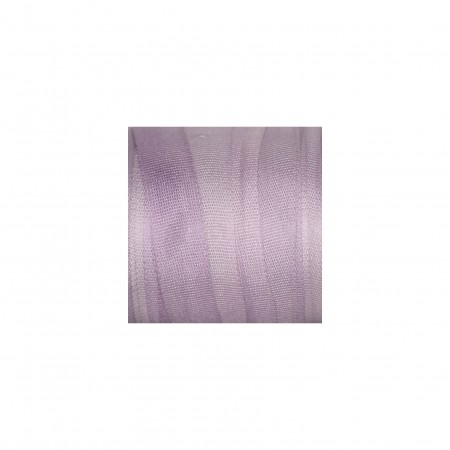 hand-dyed silk ribbon Lilac 7mm