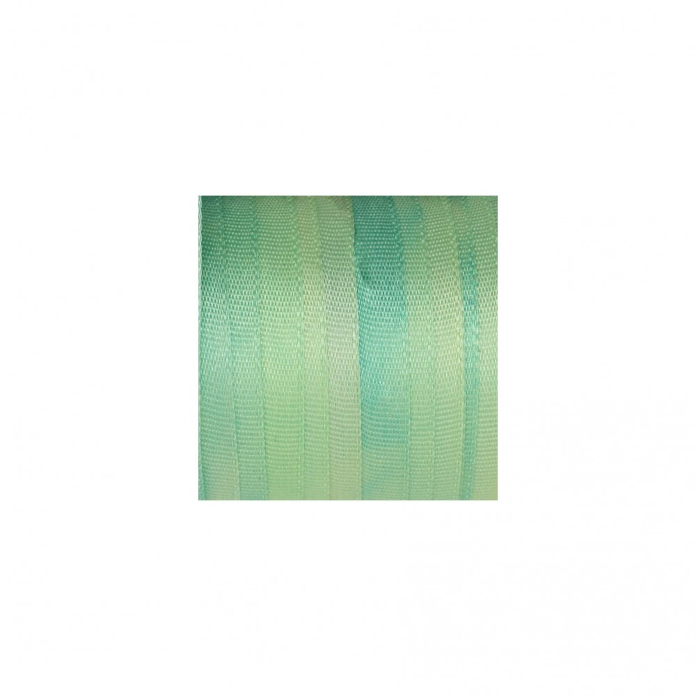 hand-dyed silk ribbon Pastel Green 7mm
