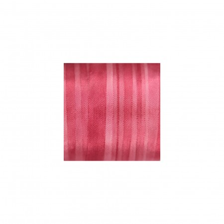 hand-dyed silk ribbon Pink Peony 7mm