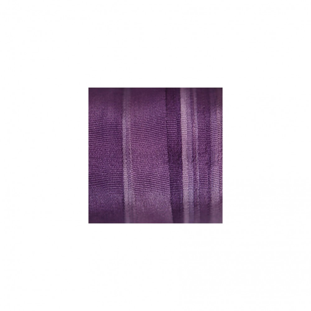 hand-dyed silk ribbon Violet 7mm