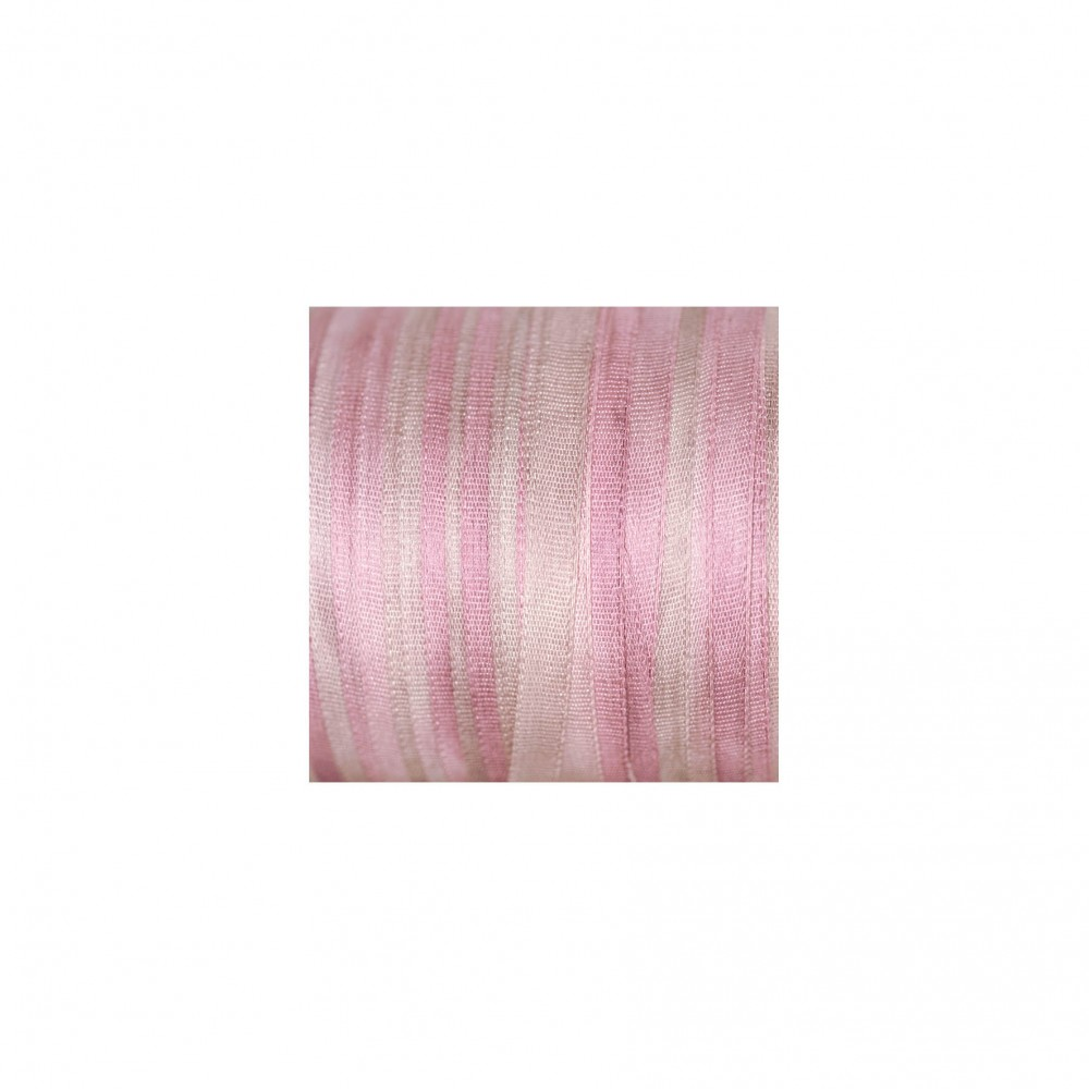 hand-dyed silk ribbon Dusty Pink 4mm
