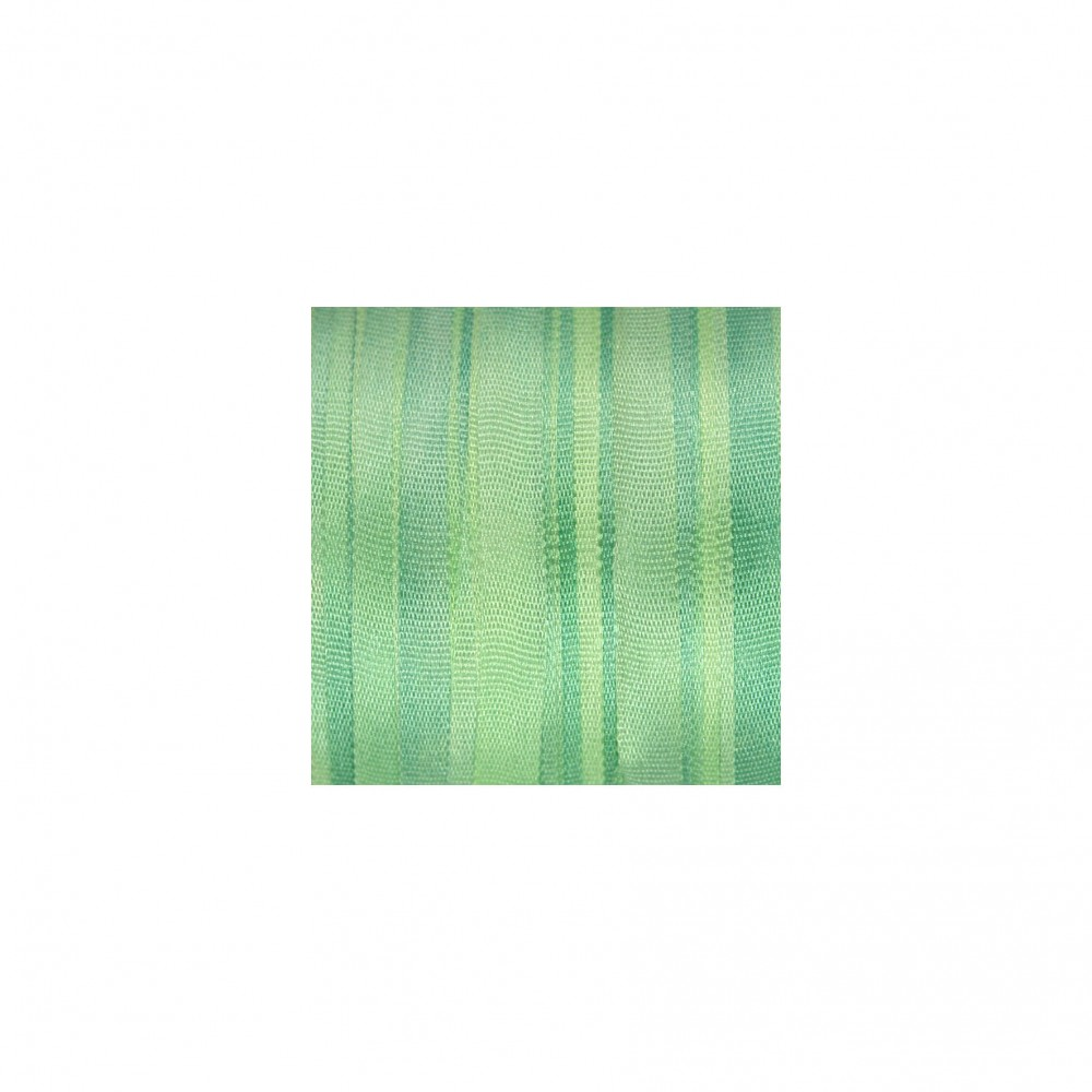 hand-dyed silk ribbon Pastel Green 4mm