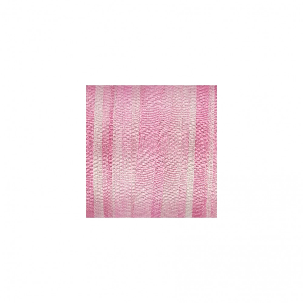 hand-dyed silk ribbon Pink 4mm