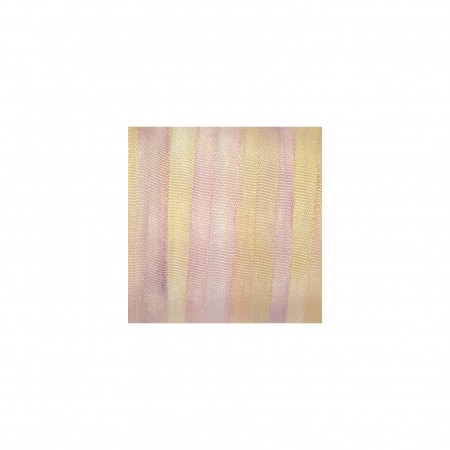 hand-dyed silk ribbon Dawn 4mm