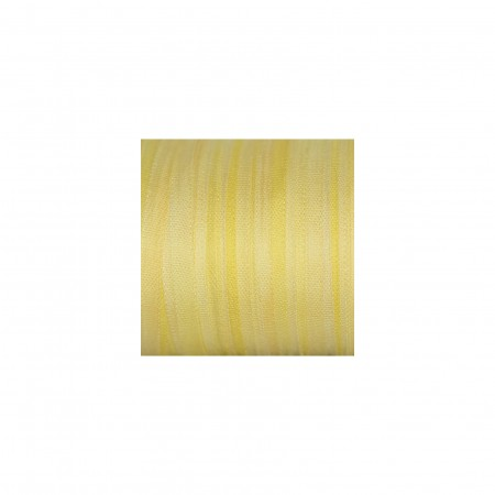 hand-dyed silk ribbon Vanilla 4mm