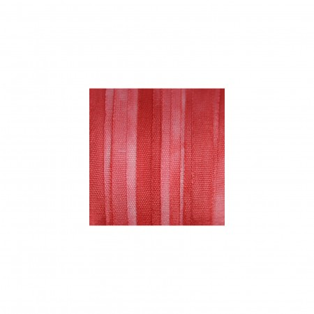 hand-dyed silk ribbon Scarlet 4mm